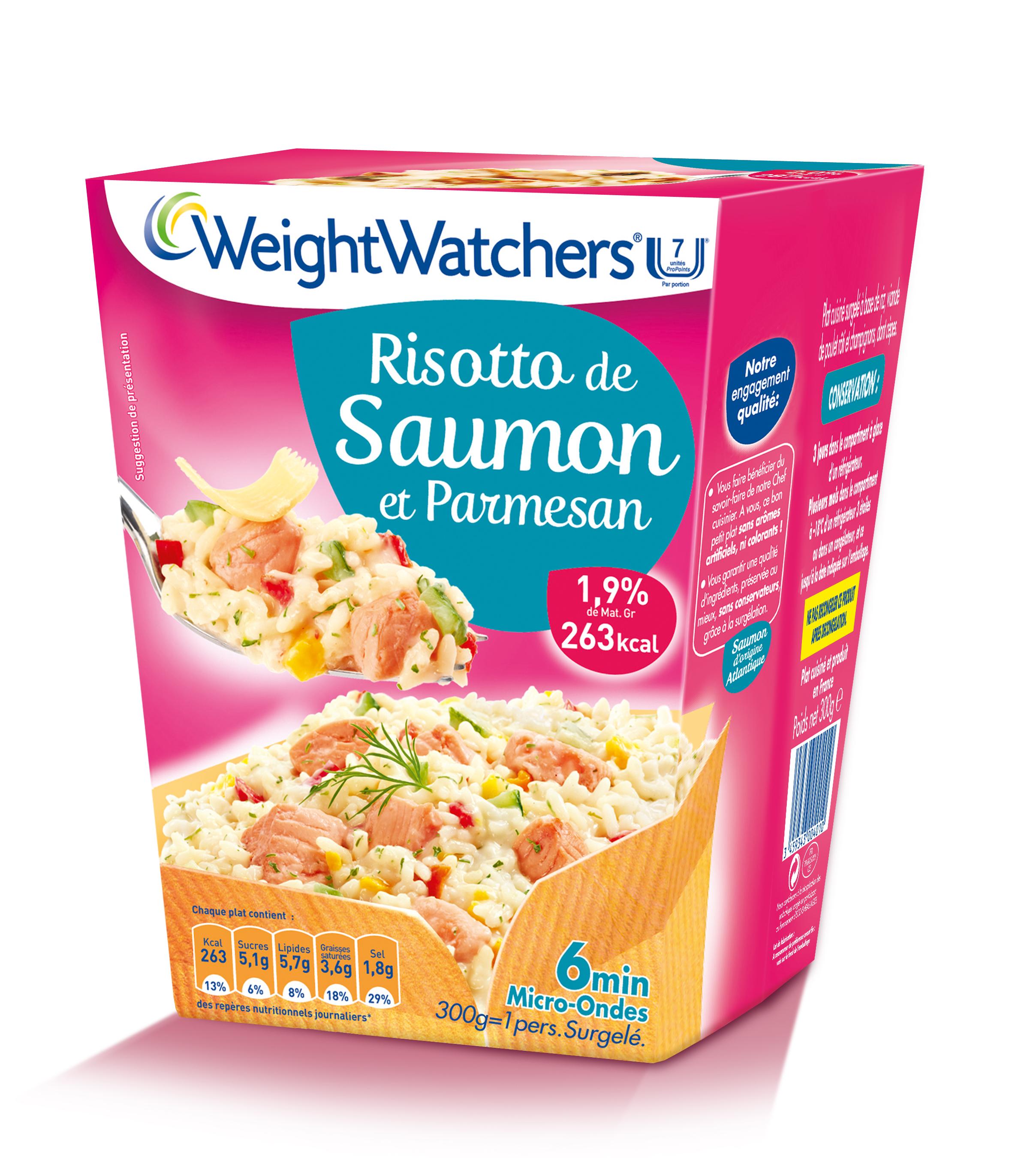 Box et sachets weight watchers surgeles concertation - Plat cuisine weight watchers ...