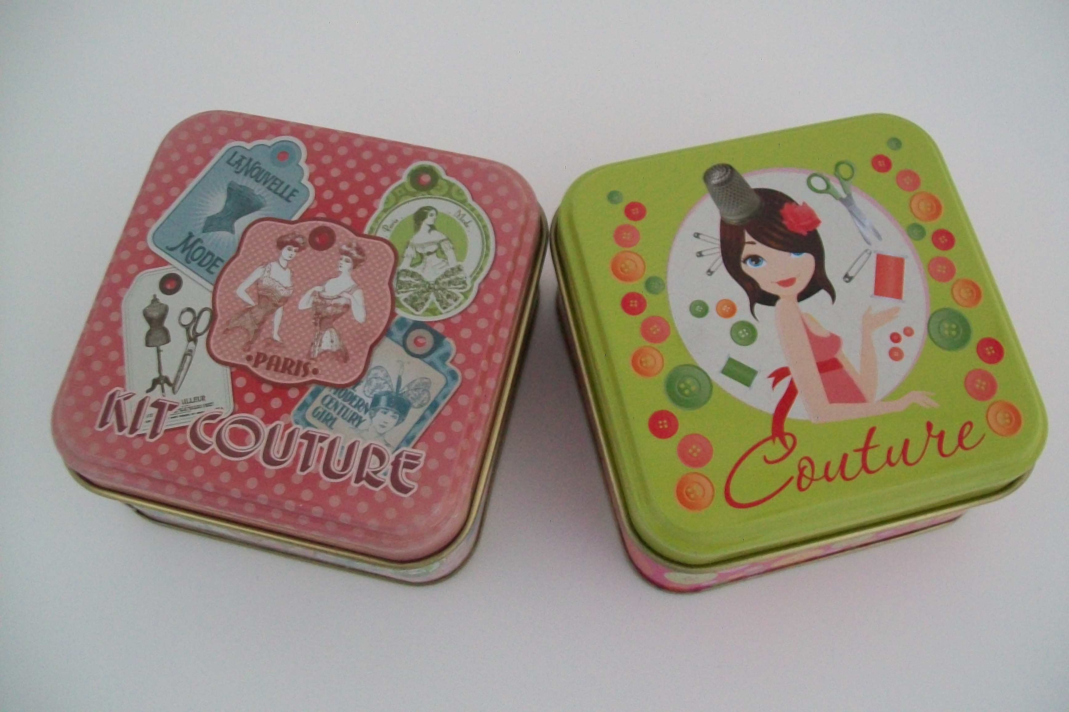 Petits accessoires mercerie couture cr a pecam utiles for Boite a couture metal
