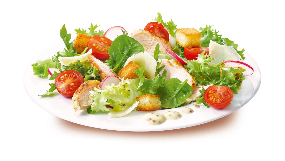 Assiette salade concertation - Decoration de salade sur assiette ...