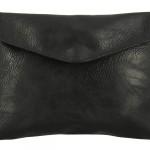 Pochette portefeuille effet cuir noir - Cliquez sur la vignette pour télécharger le visuel