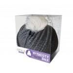My Twisty Box laine grise Cliquez sur le visuel pour le télécharger