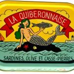 Sardines huile olive et casse pierres. Illustration Stanislas.  Cliquez sur le visuel pour le télécharger