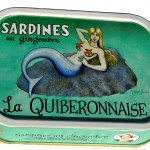 Sardines huile olive et gingembre. Illustration Shelton.  Cliquez sur le visuel pour le télécharger
