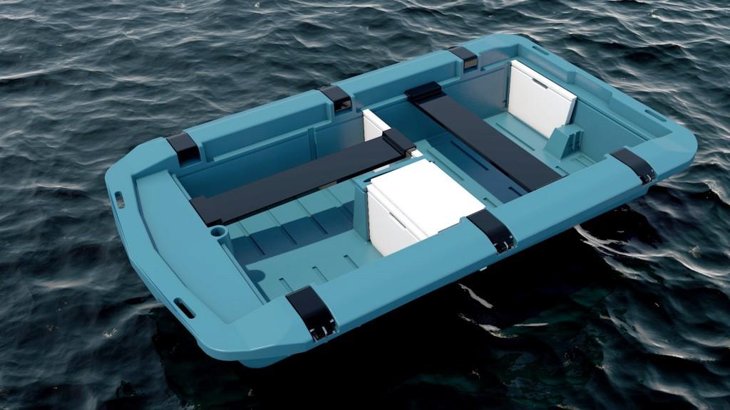 Nau small dinghy/tender  Cliquez sur la vignette pour télécharger le visuel