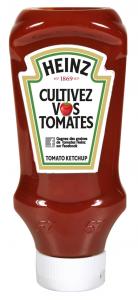Ketchup Heinz Cultivez vos tomates ! Cliquez sur le visuel pour le télécharger