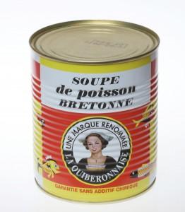 Soupe de poissons 800 ml La Quiberonnaise. Cliquez sur le visuel pour le télécharger
