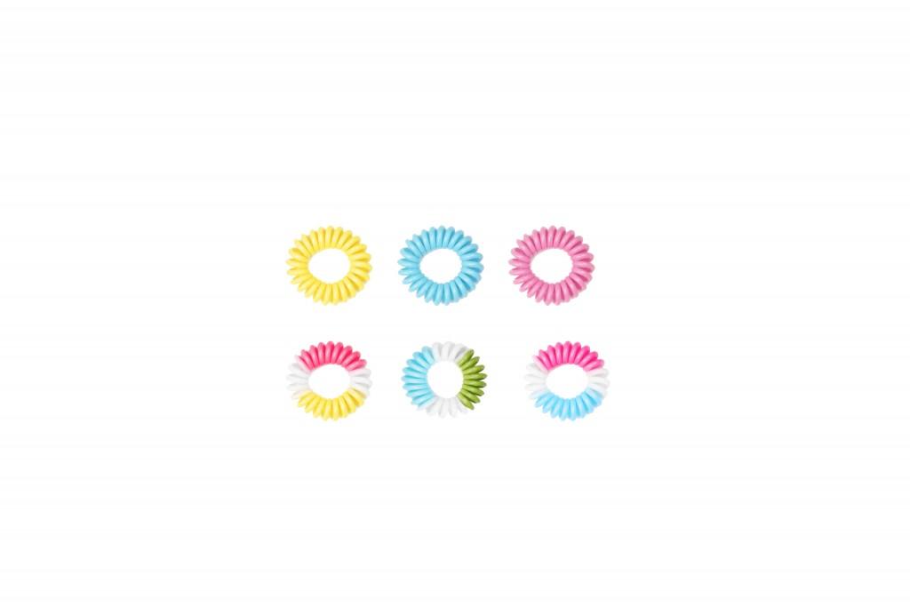 Elastiques spirales pastel BO Paris 3€ Cliquez sur le visuel pour le télécharger