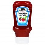 Ketchup Heinz 50 % sucres et sel en moins Cliquez sur le visuel pour le télécharger