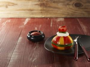 Tomate mozzarella vinaigrette au ketchup Heinz Cliquez sur le visuel pour le télécharger
