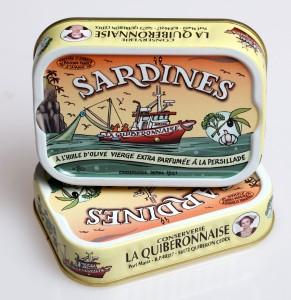 Sardines huile olive parfumée à la persillade. Cliquez sur le visuel pour le télécharger.