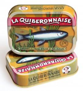 Sardines huile olive et algues, recette Chef  Restaurant Prunier. Cliquez sur le visuel pour le télécharger.