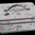 Boîte couture zippée en tissu CREA PECAM Cliquez sur le visuel pour le télécharger