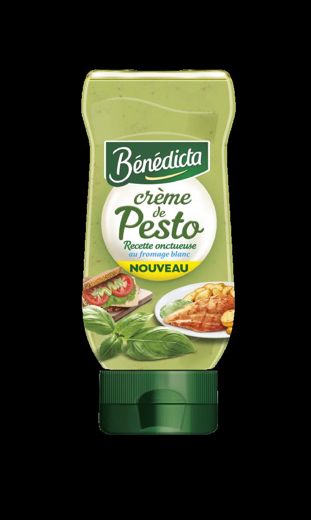 Crème de Pesto Bénédicta en flacon souple  Cliquez sur la vignette pour télécharger le visuel