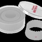 Découpoirs ronds cannelés 5.90 € -  Cliquez sur le visuel pour le télécharger