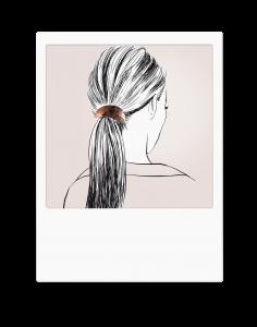 Élastique bijou feuille porté - Cliquez sur le visuel pour le télécharger