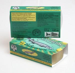 Filets d'esturgeon huile d'olive et citron Cliquez sur la vignette pour télécharger le visuel
