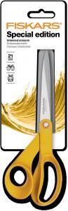 Ciseaux Inspiration Fiskars 21 cm jaune safran  Cliquez sur le visuel pour le télécharger