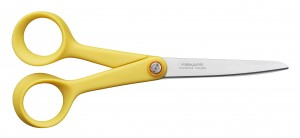 Ciseaux Inspiration Fiskars 17 cm jaune safran Cliquez sur le visuel pour le télécharger